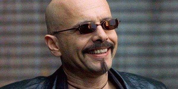 Joe Pantoliano with clip on sunglasses